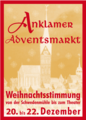 Plakat Anklamer Adventsmarkt 2013