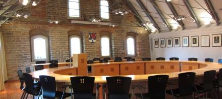 Sitzungssaal im Giebelhaus