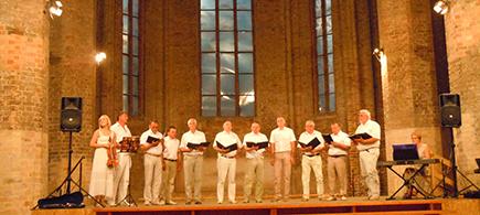 DZILEZERS aus LIMBAZI in der Anklamer Nikolaikirche