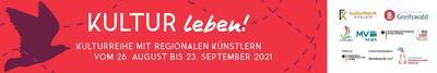 Banner Kultur Leben 2021