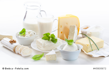 Assortment of dairy products_© Brebca - Fotolia.com _45805872